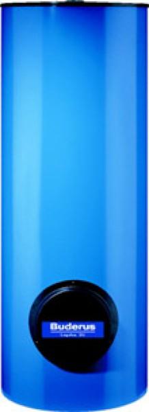 Boiler bivalent cilindric vertical albastru Logalux SM 400/5E V=400lt si flansa rezistenta electrica