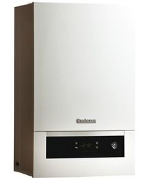 Cazan condensare GB012-25 V2 si kit evacuare gaze dn.60/100 L=395-615mm