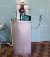 Stația de tratare a apei prin Osmoza Inversa , Debit - 60l /oră în complex, Spitalul Raional or. Falesti