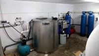 Stația de tratare a apei prin Osmoza Inversa BWT, Debit - 1 m.c./oră în complex, Vinăria Purcari