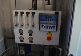 Statia de tratare a apei pentru producerea berii, AEROFOOD SRL