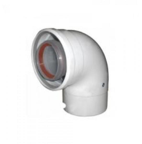 AZB619 Cot evacuare gaze arse 90* 60/100