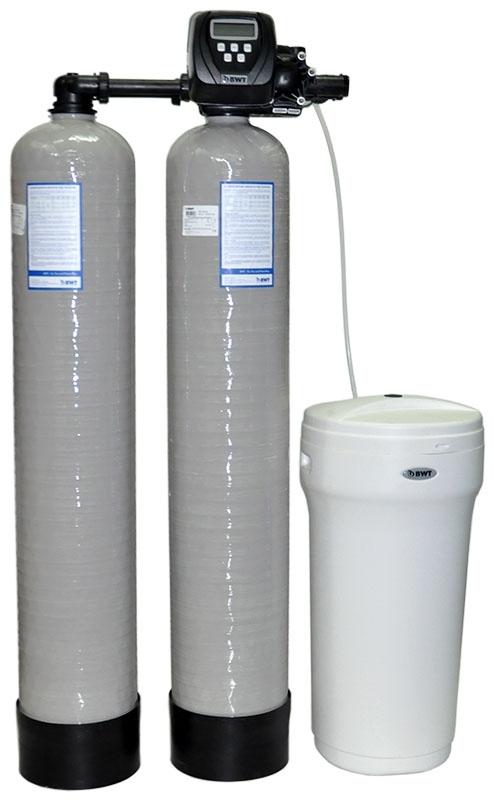 Умягчитель воды колонного типа Duplex