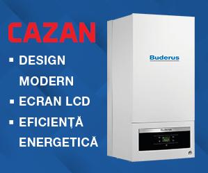 Promotie limitată Cazan Buderus Logamax Plus GB062-24KDH