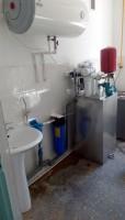 Stația de tratare a apei prin Osmoza Inversa , Debit - 60l /oră în complex, Gradinita de Copii, c. Giurgiulesti